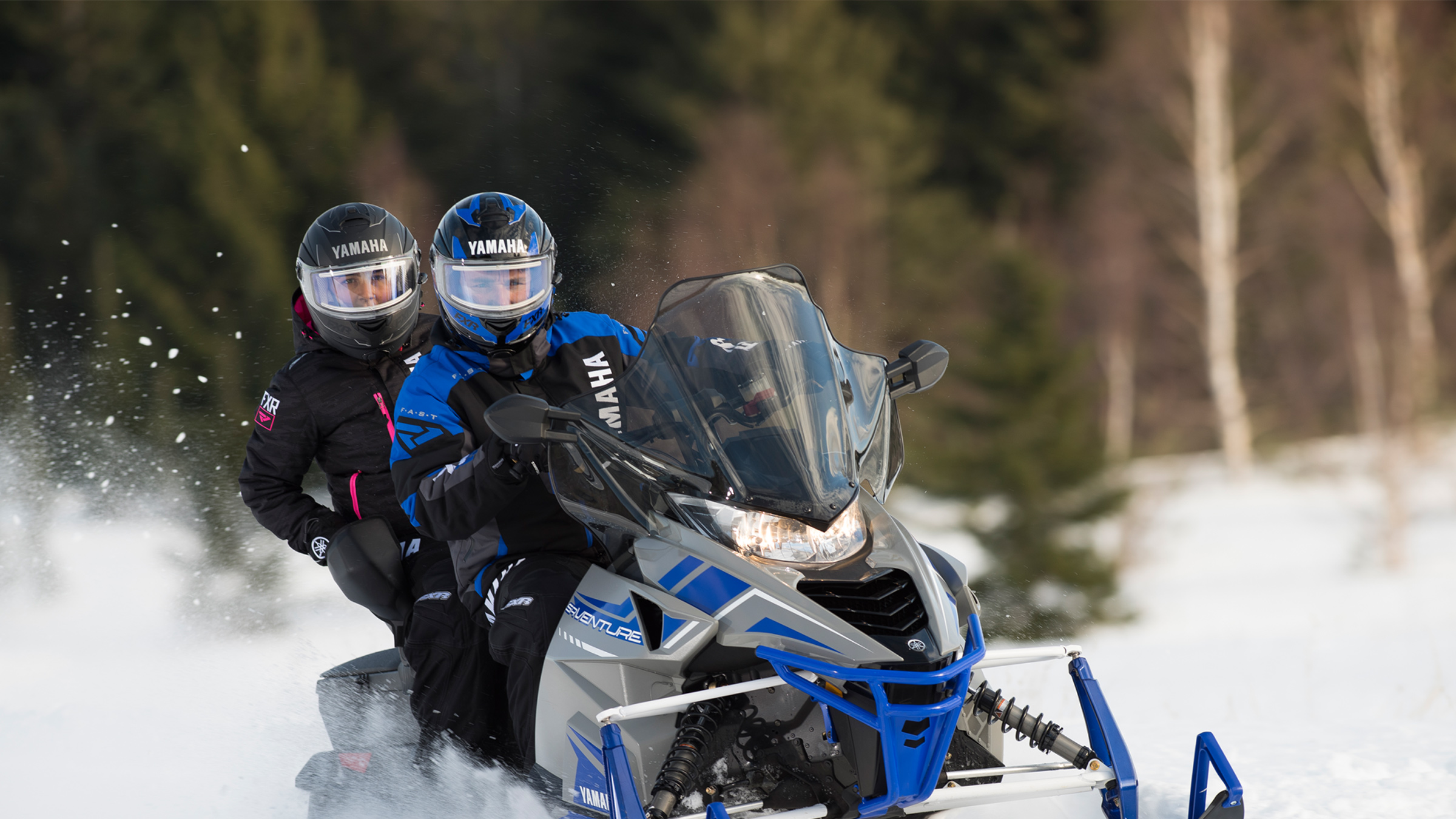 guided snowmobile tours Ontario