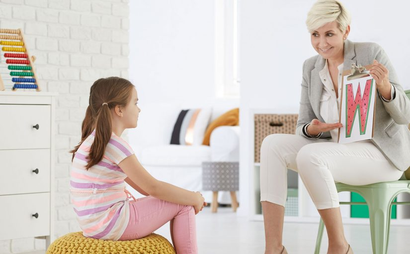 What is the qualification of a speech-language therapist?