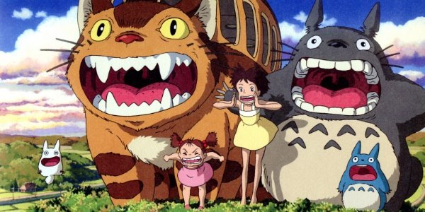 Get the t-shirts on My Neighbor Totoro designs