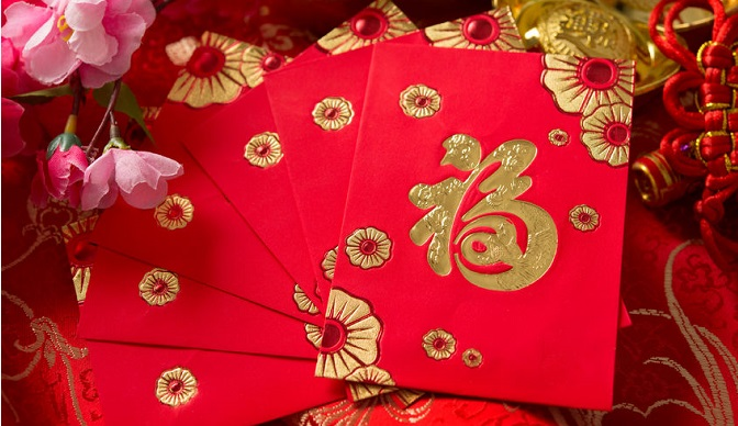 Celebrate your occasion with red packets